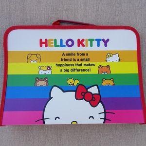 Hello Kitty Sanrio Folder & School Supplies Pack